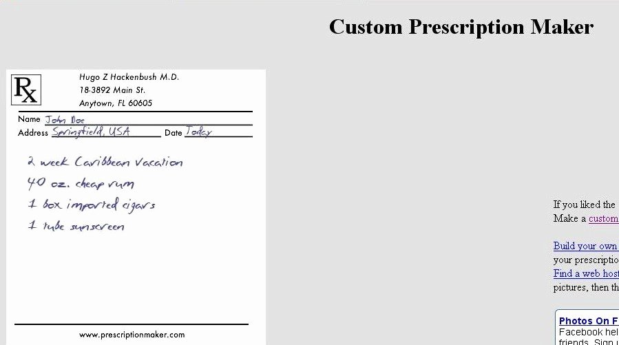 Fake Prescription Label Generator Awesome List Of Free Line Image Editor and Effects Prescription Maker