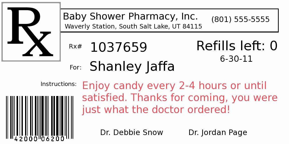 Fake Prescription Label Generator Elegant Fake Prescription Generator – Emmamcintyrephotography