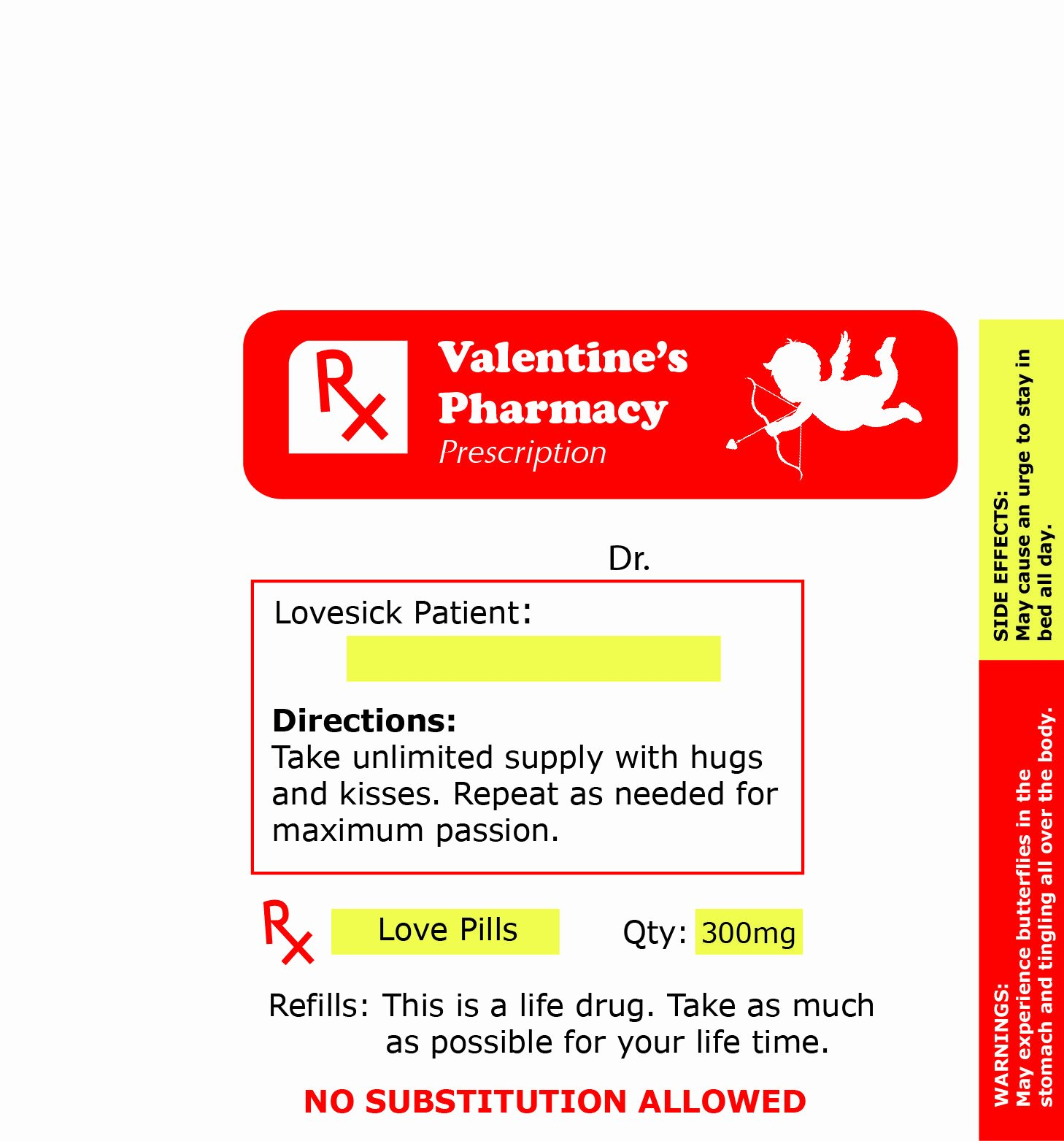 Fake Prescription Label Generator Unique Pin by Barbara On Gag Medical Labels