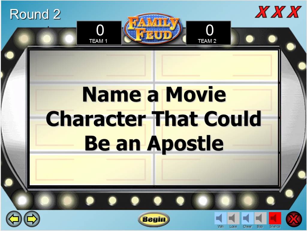 Family Feud Game Template Awesome Lds Family Feud Game Template Prospering Families