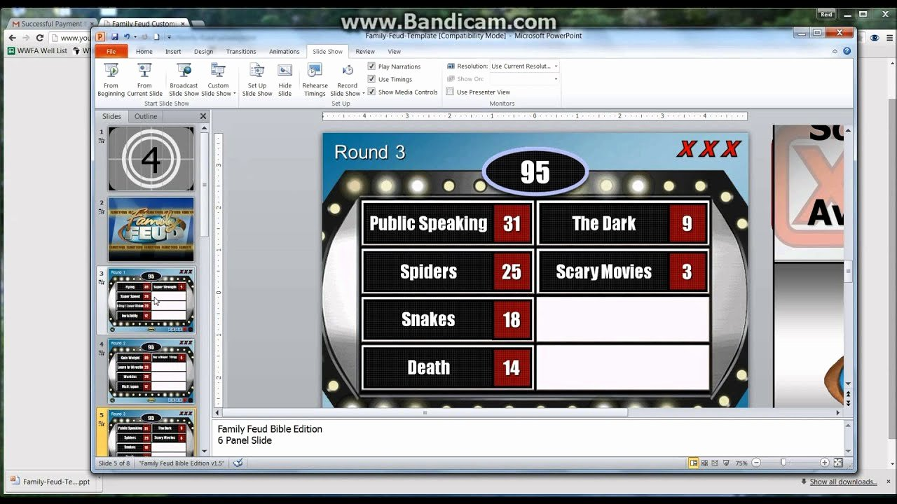 Family Feud Game Template Inspirational How to Make A Powerpoint Family Feud Template Game Tutorial
