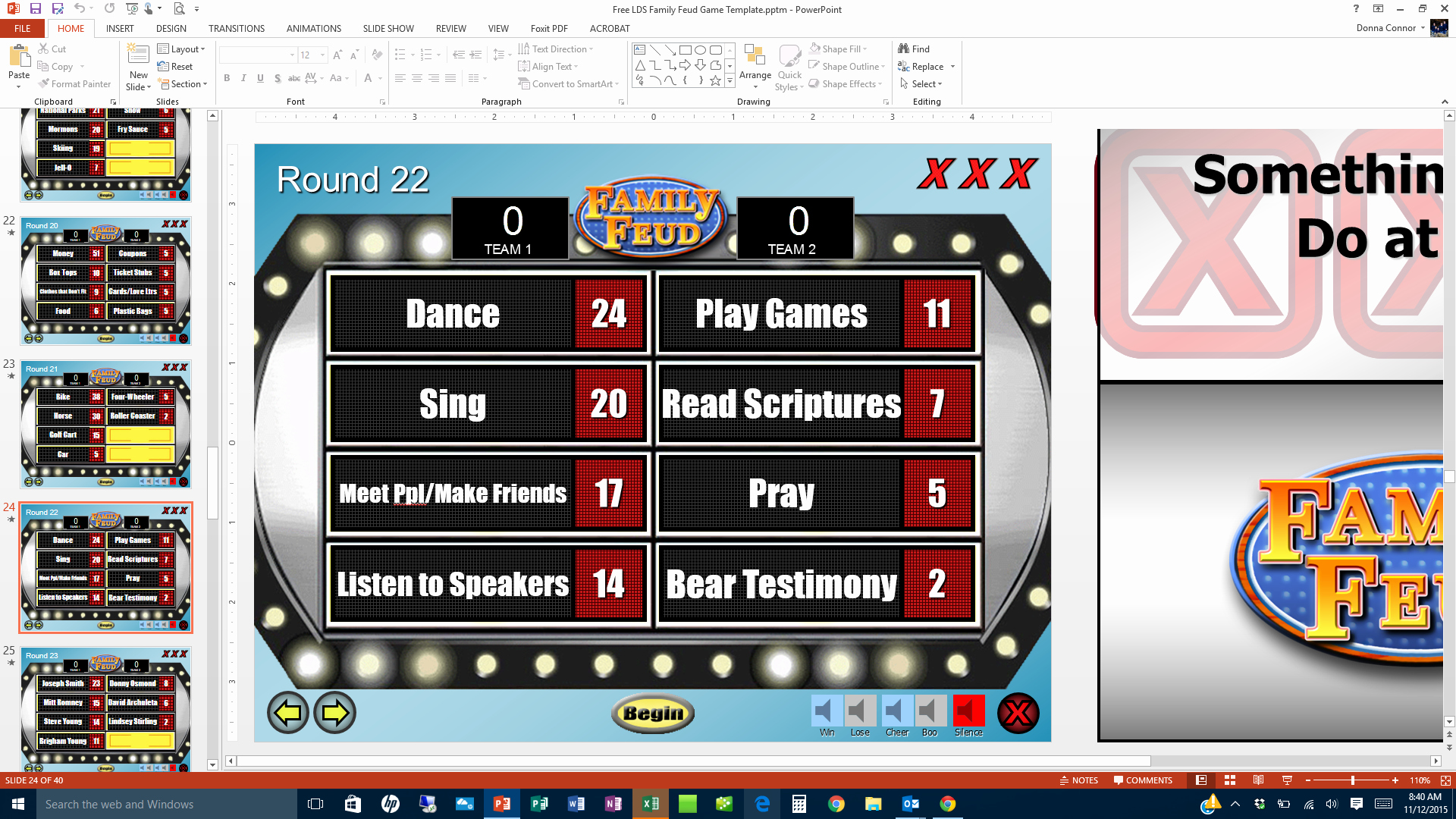 Family Feud Game Template Luxury 27 Of Family Feud Blank Template for Powerpoint