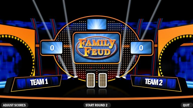 Family Feud Game Template Luxury 6 Free Family Feud Powerpoint Templates for Teachers