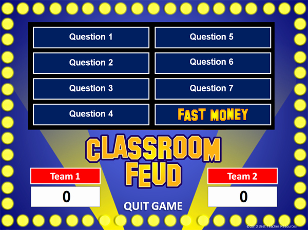 Family Feud Powerpoint Template Awesome 101 social Stu S Websites for Teachers U S History World History