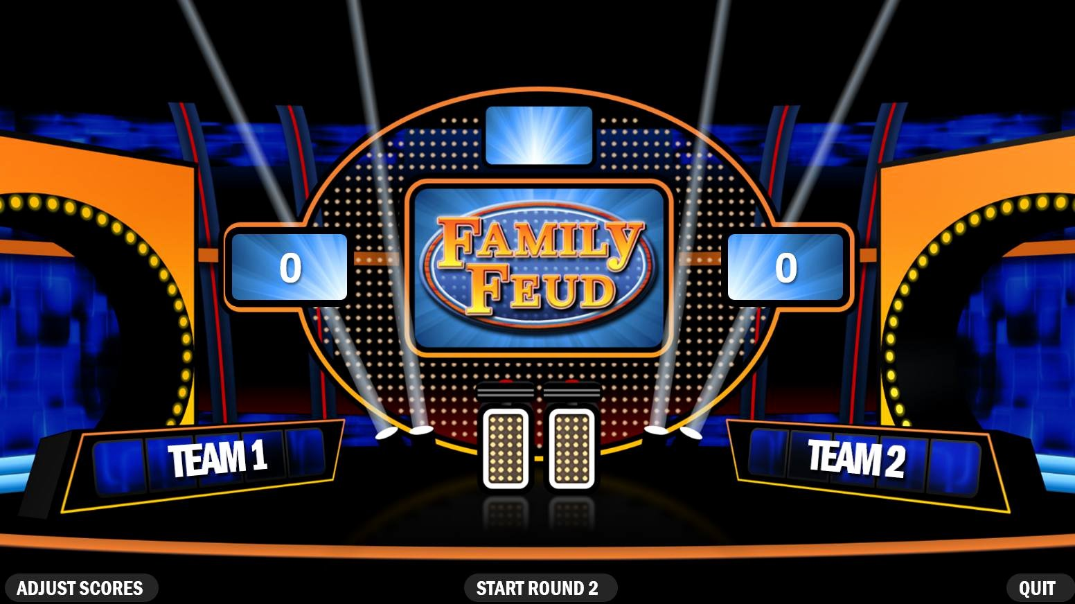 Family Feud Powerpoint Template Best Of 4 Best Free Family Feud Powerpoint Templates