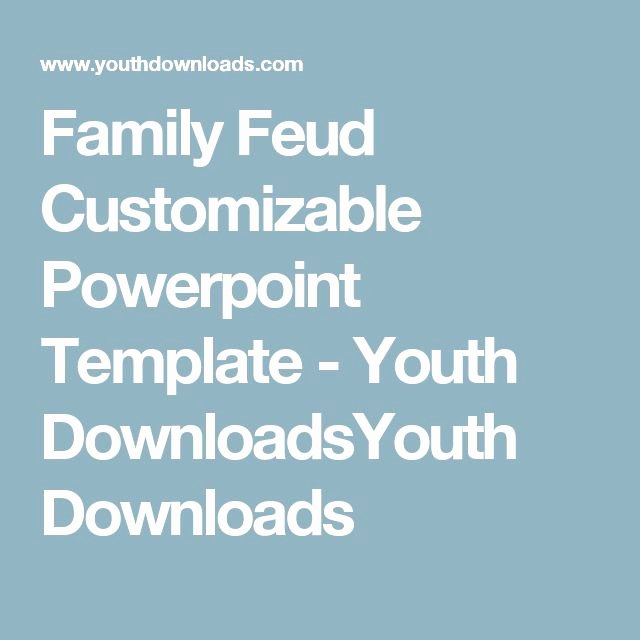 Family Feud Powerpoint Template Fresh 91 Best Images About Work On Pinterest