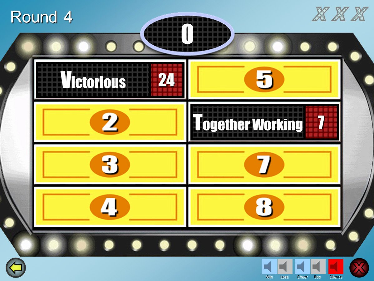 Family Feud Powerpoint Template Fresh Family Feud Customizable Powerpoint Template Youth Downloadsyouth Downloads