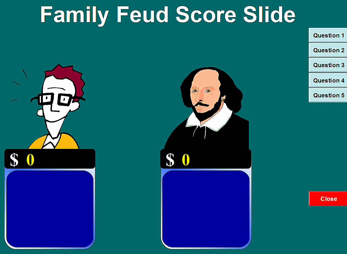 Family Feud Powerpoint Template Inspirational 6 Free Family Feud Powerpoint Templates for Teachers
