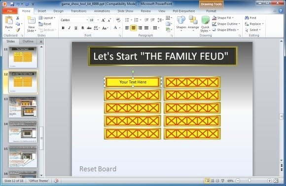 Family Feud Powerpoint Template Unique Family Feud Powerpoint Template