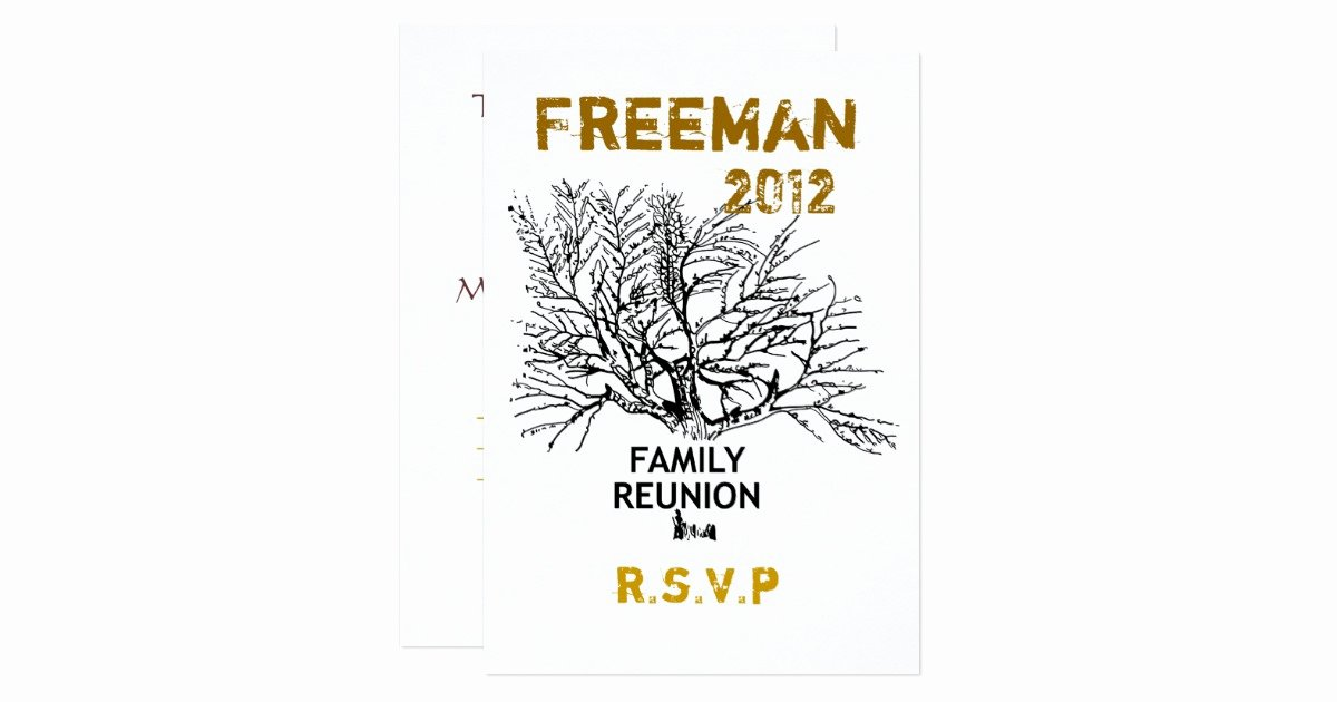 Family Reunion Save the Date Awesome Save the Date Family Reunion Card