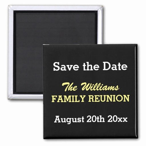 Family Reunion Save the Date Inspirational Family Reunion Save the Date Magnets