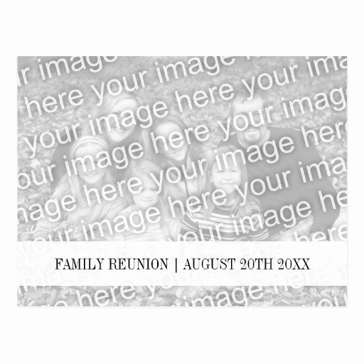 Family Reunion Save the Date Lovely Family Reunion Save the Date Photo Postcards