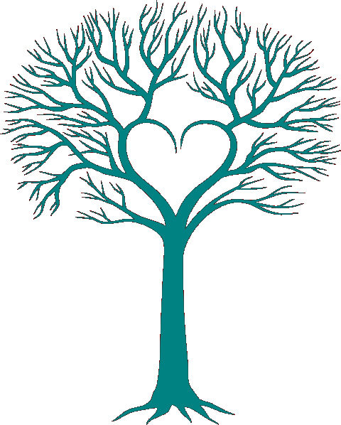 Family Tree Clip Art Templates Awesome Family Tree with Heart Clip Art Clever Crafts