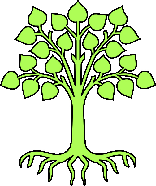 Family Tree Clip Art Templates Beautiful Family Tree Template Printable for Kids Clipart Clipartix