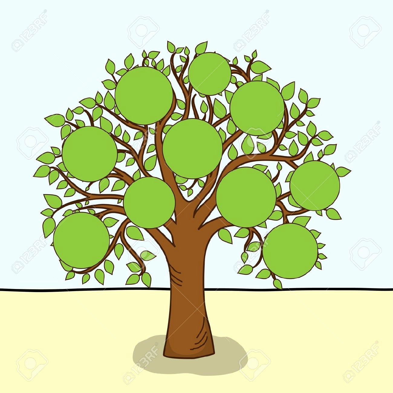 Family Tree Clip Art Templates Best Of Free Family Tree Clipart Clipartix