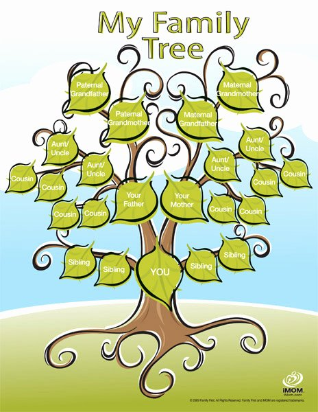 Family Tree Examples Images Awesome Cute Printable Family Tree