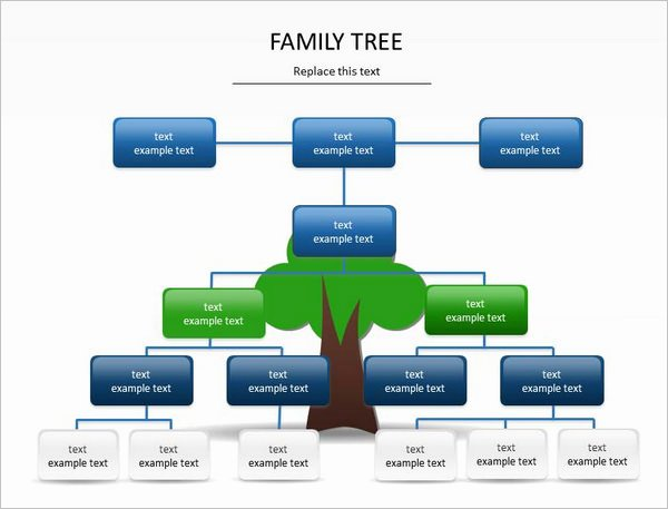 Family Tree Examples Images Best Of 9 Powerpoint Family Tree Template Ppt