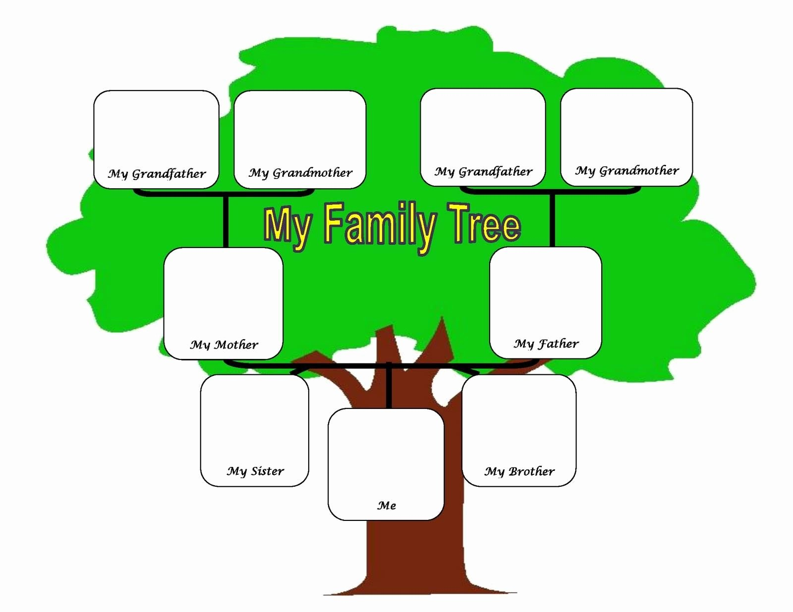 Family Tree Examples Images Inspirational Family Tree Fotolip Rich Image and Wallpaper