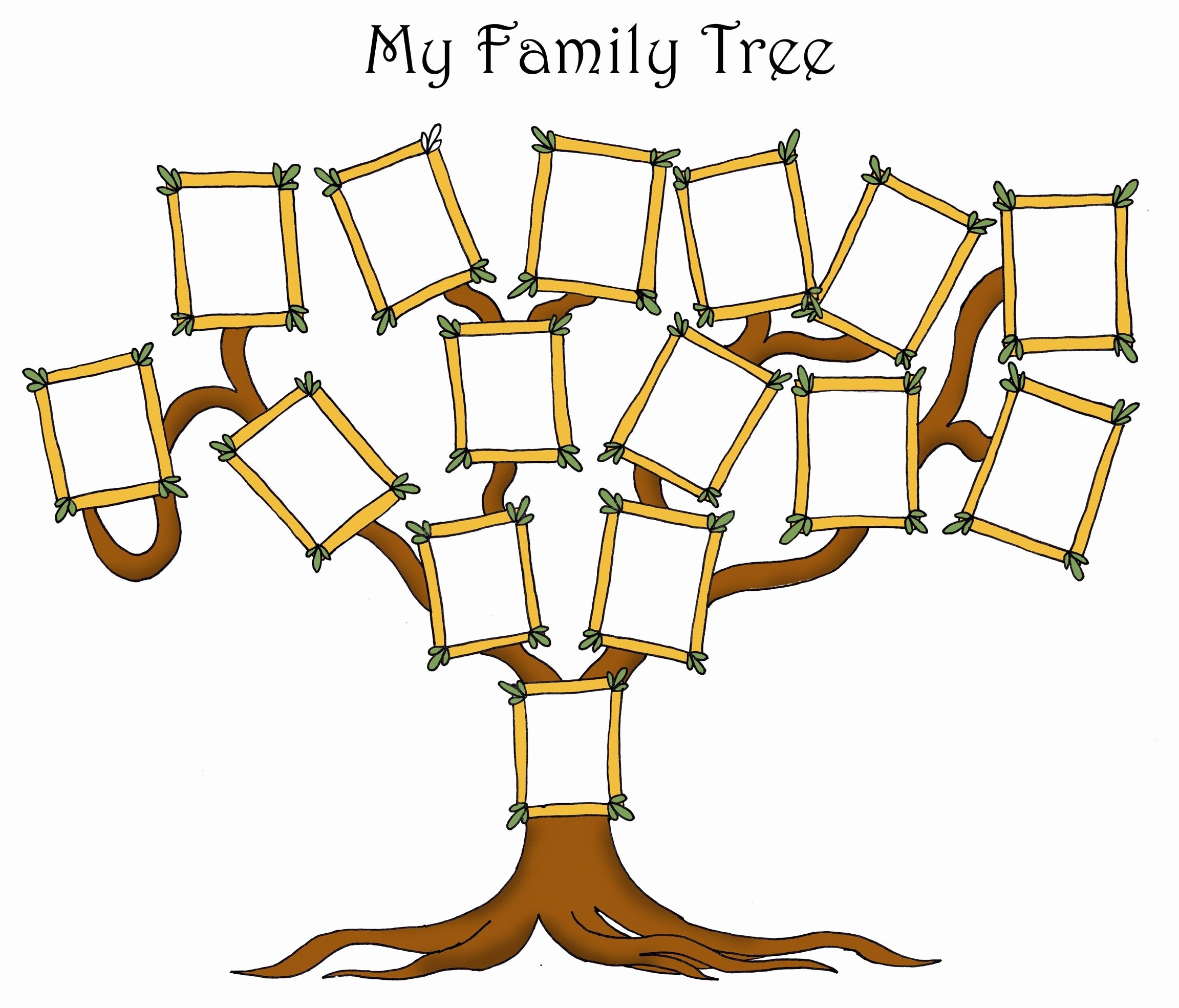 Family Tree Examples Images Inspirational Free Editable Family Tree Template Daily Roabox
