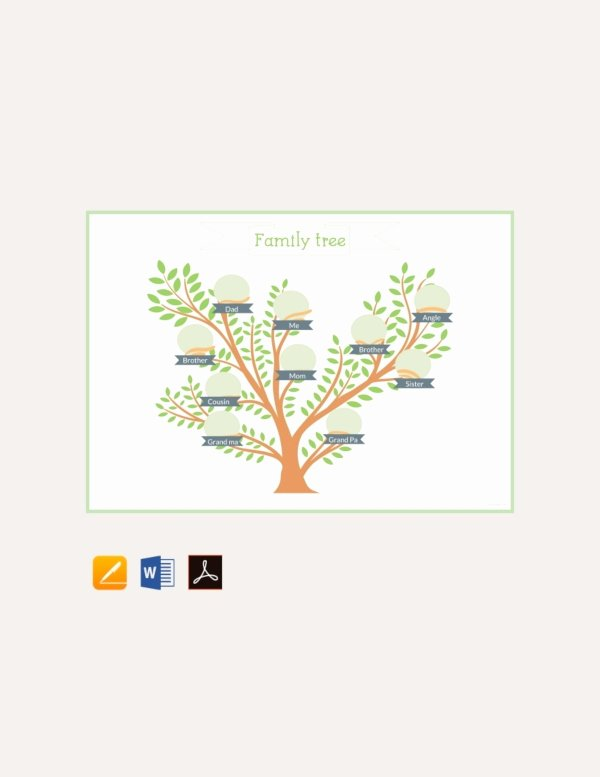 Family Tree Microsoft Word Elegant How to Create A Family Tree In Microsoft Word – Tutorial