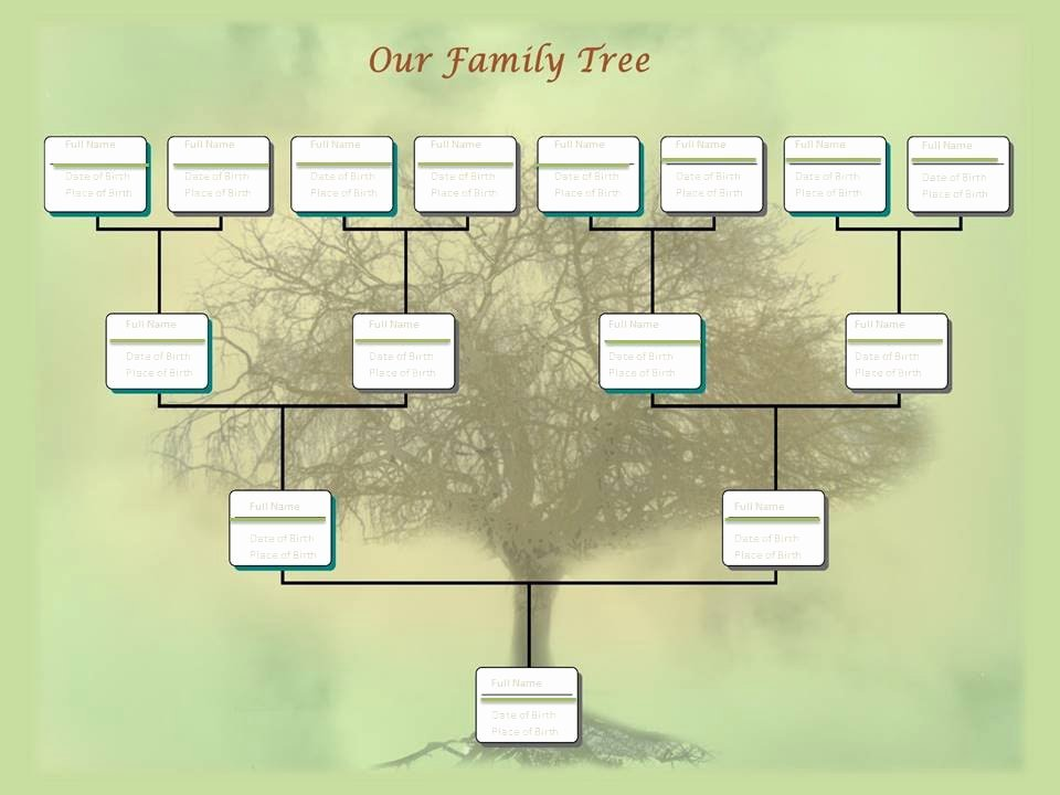 Family Tree Microsoft Word Fresh Family Tree Chart Template Example