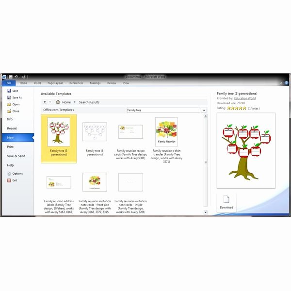 Family Tree Microsoft Word Unique Guide to Finding A Genealogy Template for Word