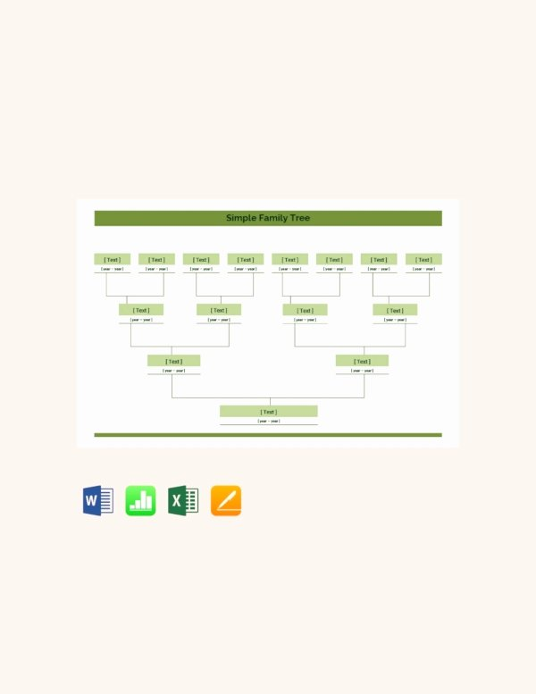 Family Tree Microsoft Word Unique How to Create A Family Tree In Microsoft Word – Tutorial