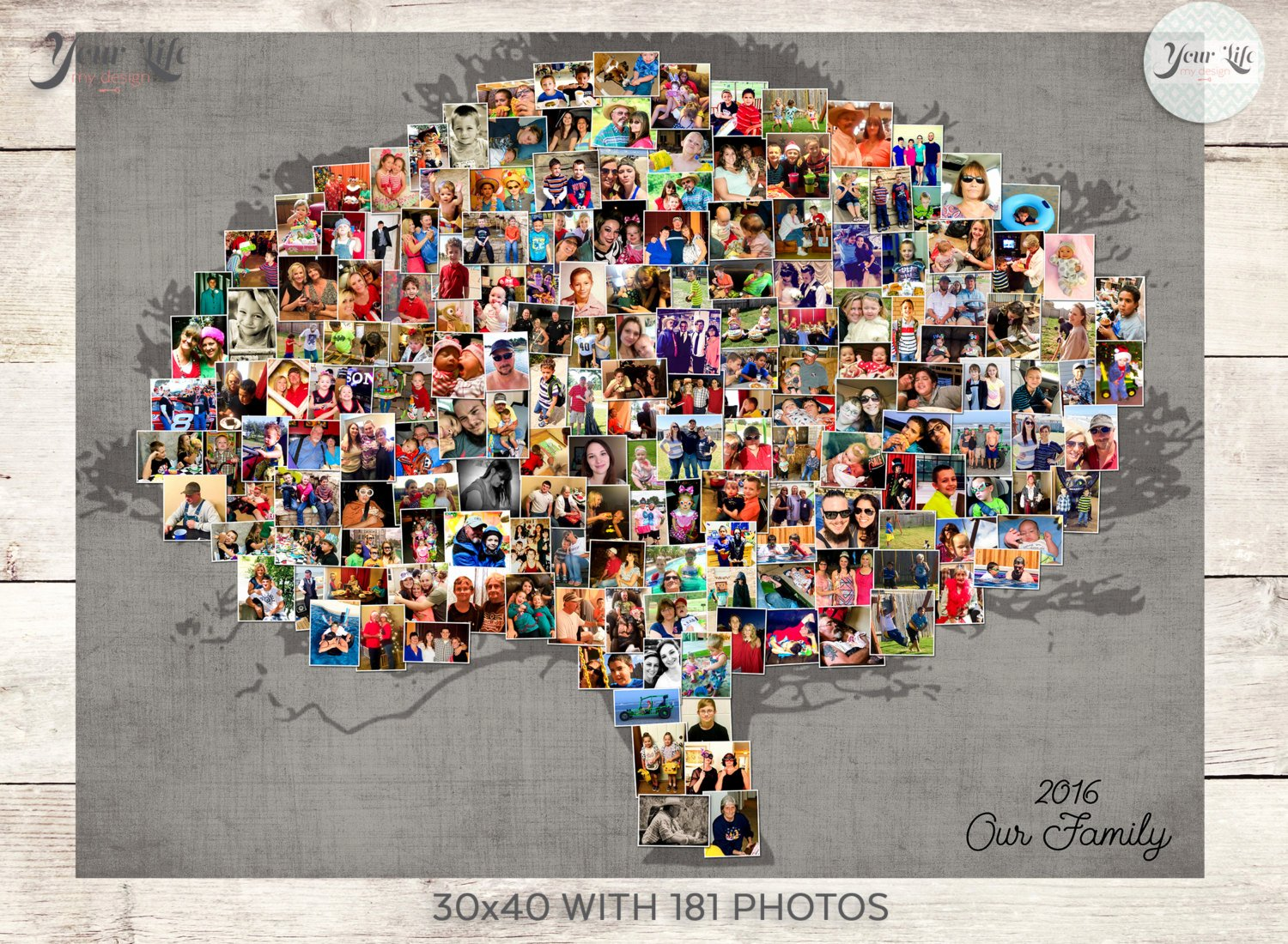 Family Tree Photo Collage Best Of Family Tree Collage Family Tree Wall Art Family Tree