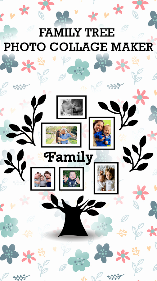 Family Tree Photo Collage Elegant Family Tree Collage Maker android Apps On Google Play