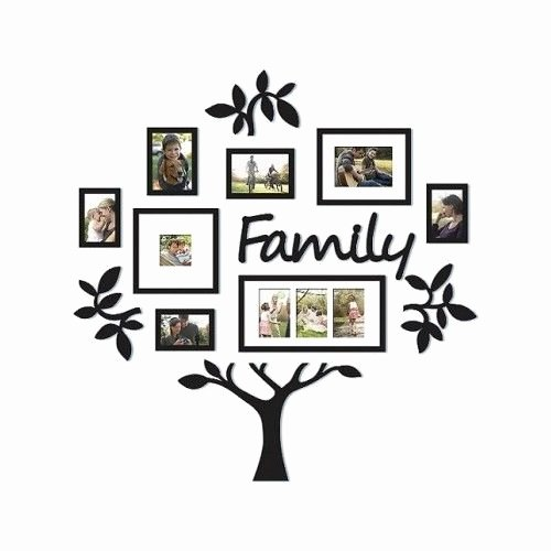 Family Tree Photo Collage Fresh Family Tree Frame Collage Frames Multi Mount Wall Decor Wedding