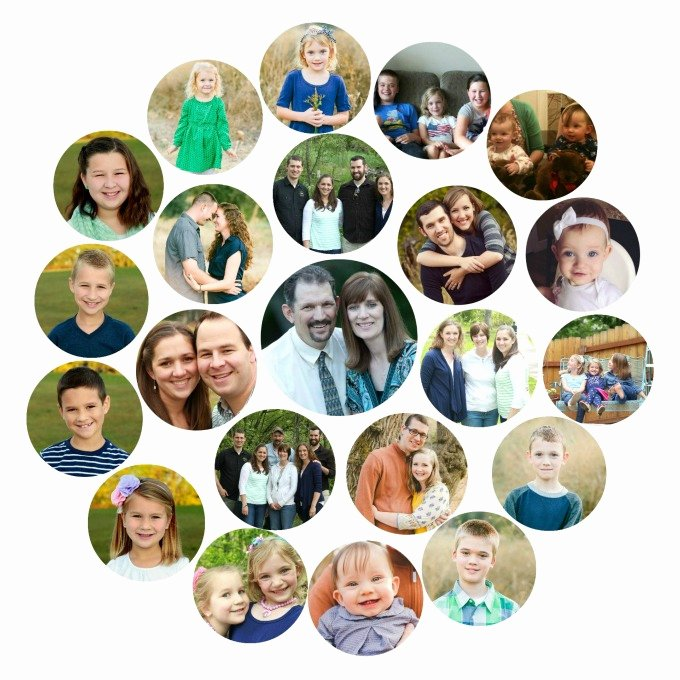 Family Tree Photo Collage Inspirational Mini Family Tree Collage for Mother S Day Gluesticks