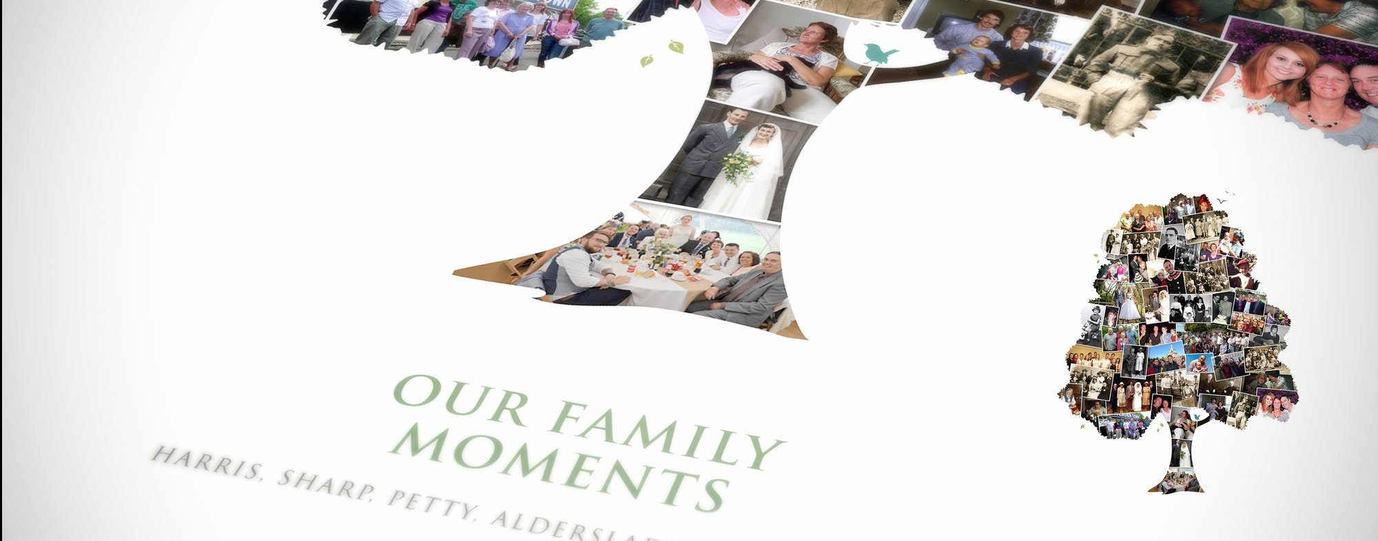 Family Tree Photo Collage Luxury Family Tree Collage Wall Art Sharing Those Moments