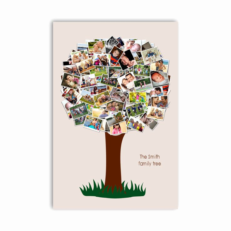 Family Tree Photo Collage Luxury Family Tree Photo Collage Canvas Smile Canvas Prints