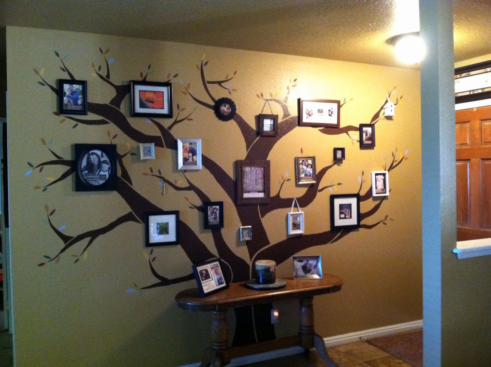 Family Tree Photo Collage Luxury while Adam S Sleeping It S Only 8pm Diy Family Tree Wall Collage