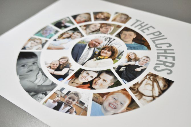 Family Tree Photo Collage New Meaningful Collage Ideas Canvas Printers Line