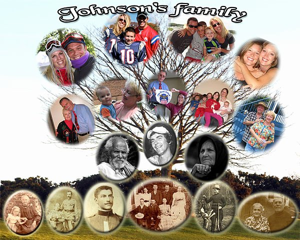 Family Tree Photo Collage Unique Turn Your Into Art Family Art Tree