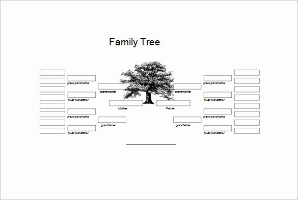 Family Tree Template Google Docs Beautiful Free Genogram Templates 8 Family Word Powerpoint