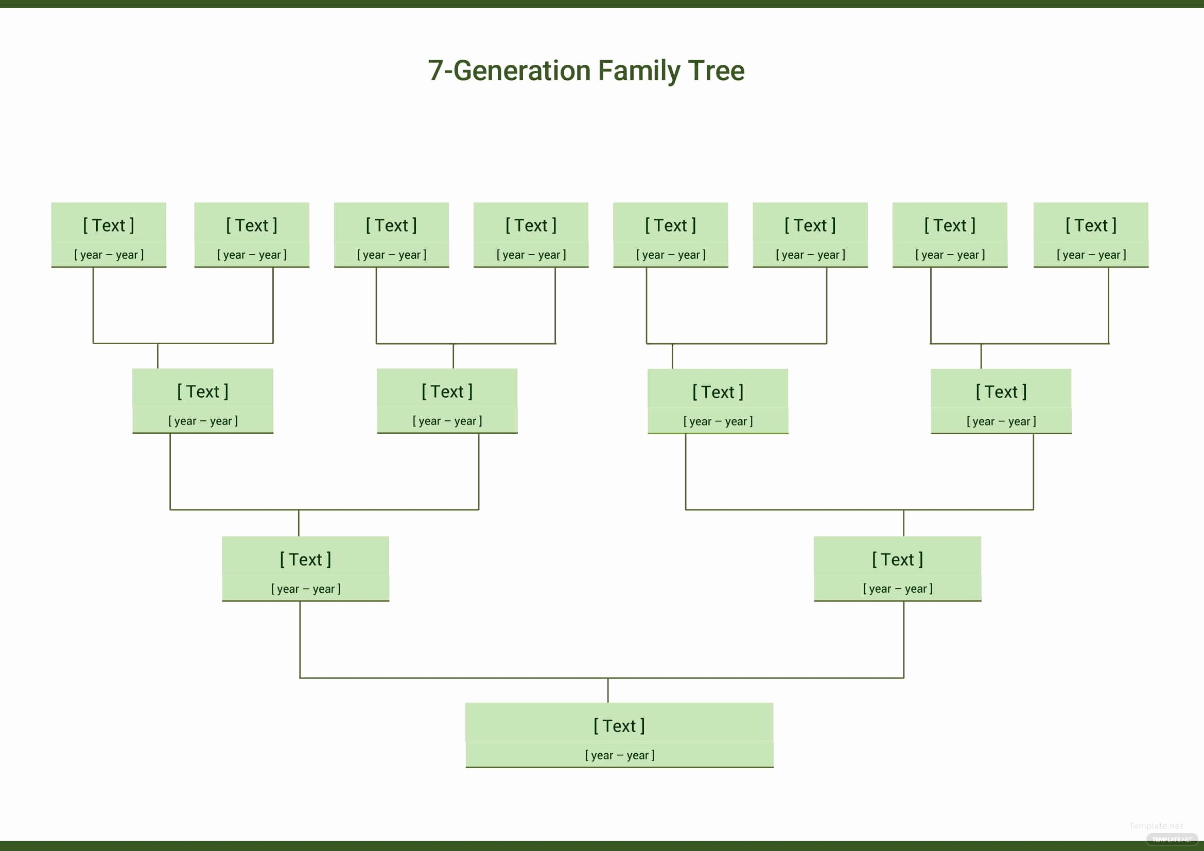 Family Tree Template Google Docs Best Of Seven Generation Family Tree Template In Microsoft Word