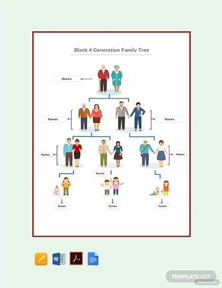 Family Tree Template Google Docs Luxury 15 Best Family Tree Examples & Templates Download now