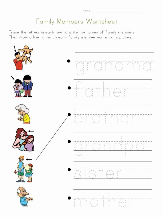 Family Tree Worksheet Pdf Unique Pin On Worksheets