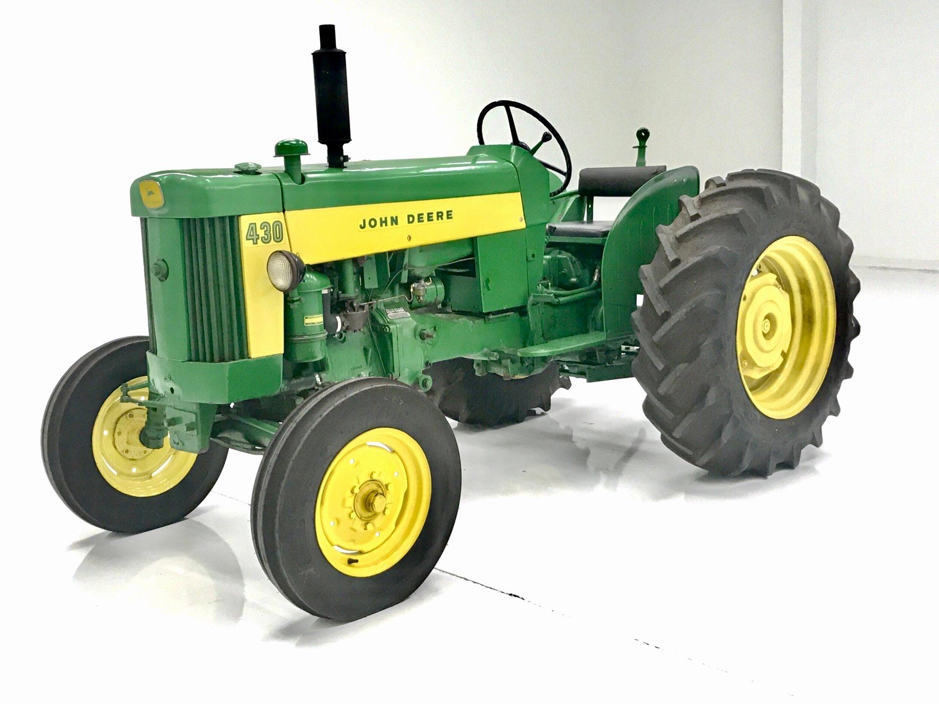 Farm Equipment Bill Of Sale Elegant 1959 John Deere 430 U Tractor
