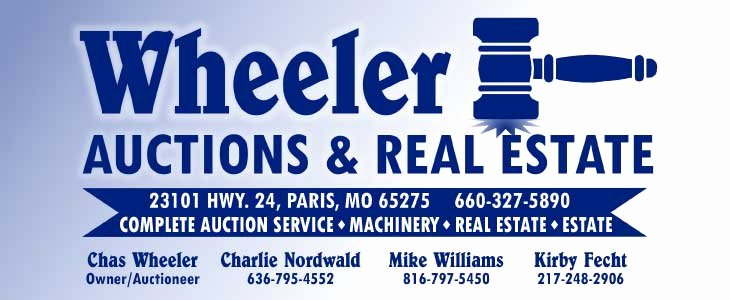 Farm Equipment Bill Of Sale Luxury Wheeler Auctions & Real Estate Westhoff Real Estate Auction October 8 2019 Bowling Green Mo