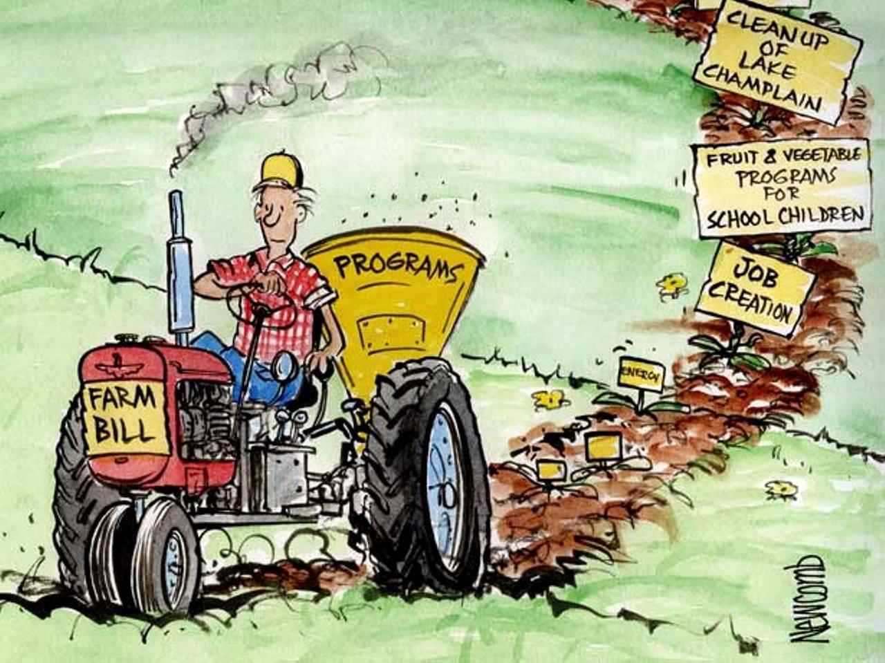 Farm Equipment Bill Of Sale New Crop Circles Politics Seven Days