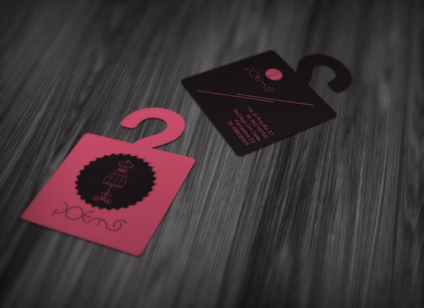 Fashion Design Business Cards Awesome 30 Most Stylish Fashion Business Card Designs