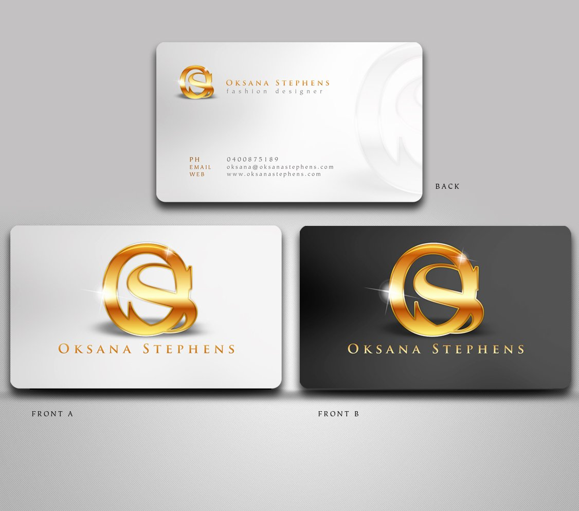 Fashion Designer Business Card Awesome Elegant Playful Fashion Business Card Design for A Pany by Disign