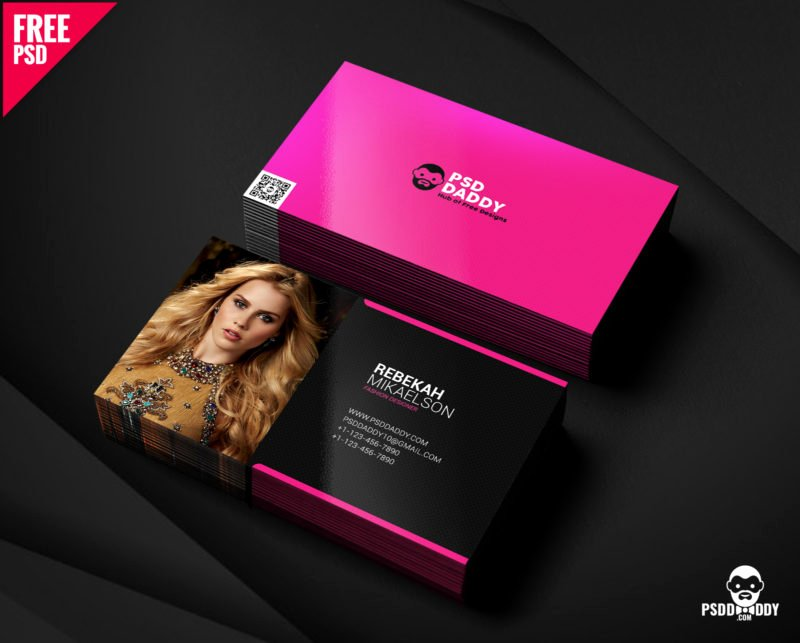 Fashion Designer Business Card Awesome [free] Fashion Designer Business Card Free Psd