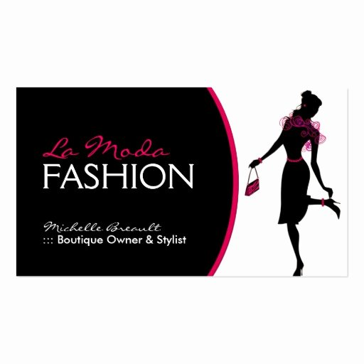 Fashion Designer Business Card Awesome Stylish Fashion Designer Business Card