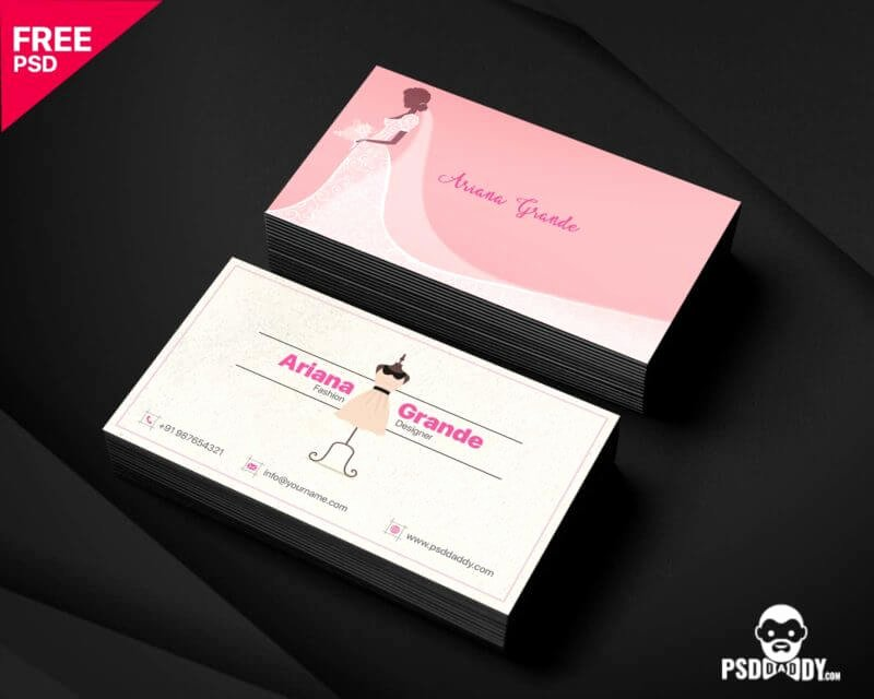 Fashion Designer Business Card Best Of Fashion Designer Business Card Free Psd