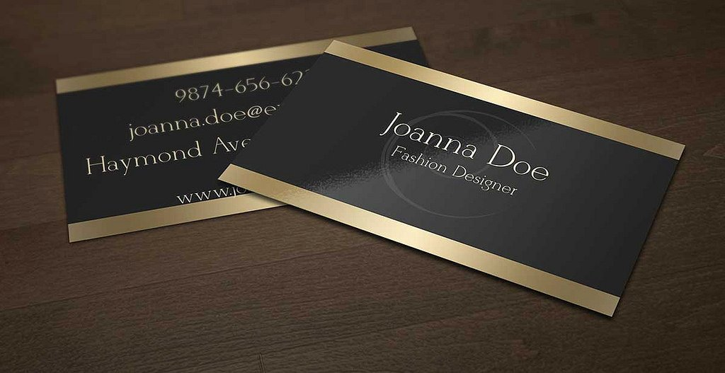 Fashion Designer Business Card Best Of John Doe Fashion Designer Business Card