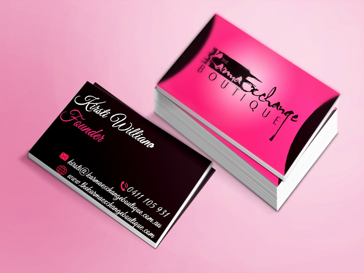 Fashion Designer Business Card New Fashion Business Cards Business Card Tips